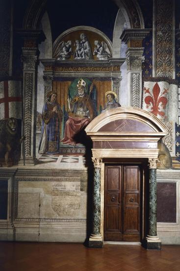 Fresco Details-Domenico Ghirlandaio-Giclee Print