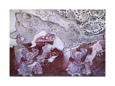 Fresco from the Culture of Teotihuacan--Giclee Print