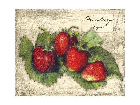 Fresco Fruit XII-Kate Ward Thacker-Art Print