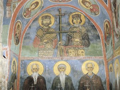 Fresco in a Church, Panagia Ties Asinou Church, Nikitart, Cyprus--Giclee Print