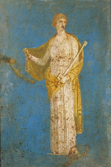 Fresco Portraying Medea, from Stabiae, Italy--Giclee Print