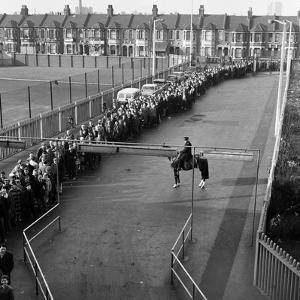 West Ham V. Burnley, 1964 by Fresco
