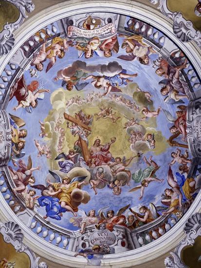 Fresco-Giuseppe Mattia Borgnis-Giclee Print