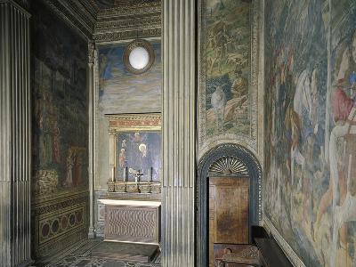 Frescoed Chapel-Michelozzo Michelozzi-Giclee Print