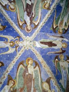Frescoed Stone Cross