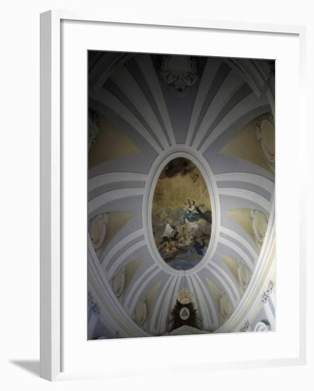 Frescoed Vault, Campana College, Osimo, Marches, Italy--Framed Giclee Print