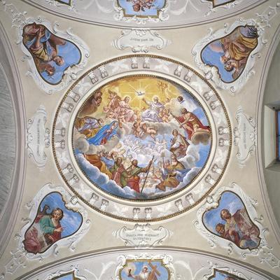 Frescoes by Giuseppe Mattia Borgnis--Giclee Print