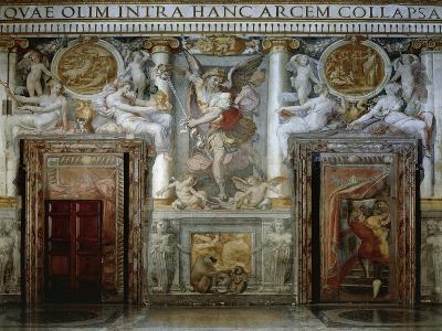 Frescoes by Piero Di Giovanni Bonaccorsi, known as Perin Del Vaga--Giclee Print