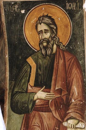 Frescoes, Exonarthex of Saint Nicholas Church--Giclee Print