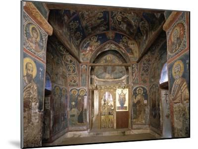 Frescoes from Section Facing Apse, Byzantine Church of Our Lady of Asinou--Mounted Giclee Print