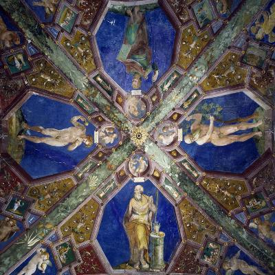 Frescoes from the Vault of the Chapel of the Assumption-Giovanni Da Spoleto-Giclee Print