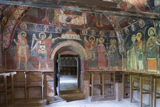 Frescoes in Church of Archangels Michael and Gabriel (18th Century)--Photographic Print
