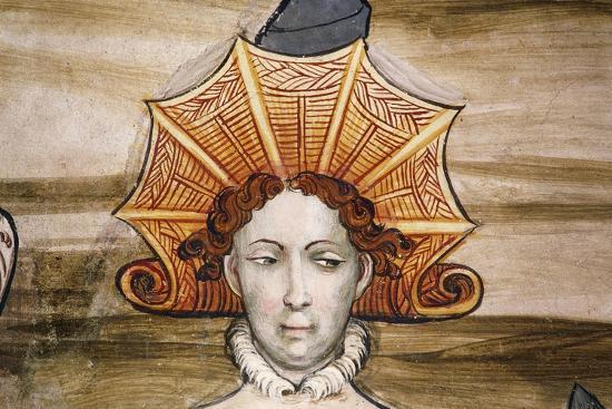 Frescoes of Baronial Hall--Giclee Print