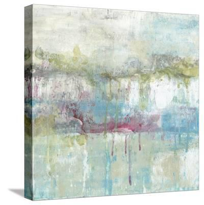 Fresh Abstract II-Jennifer Goldberger-Stretched Canvas Print