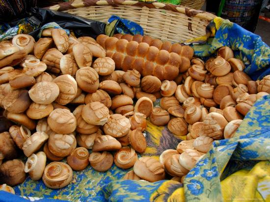 Fresh Bread Rolls, Lake Atitlan, Solola, Western Highlands, Guatemala-Cindy Miller Hopkins-Photographic Print