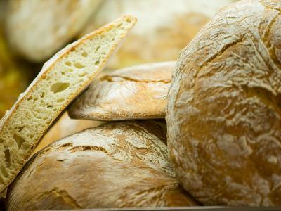 Fresh Bread, Trogir, Croatia-Russell Young-Photographic Print
