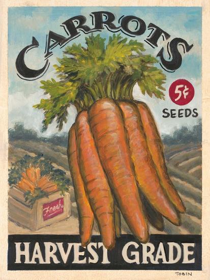 Fresh Carrots-K^ Tobin-Art Print
