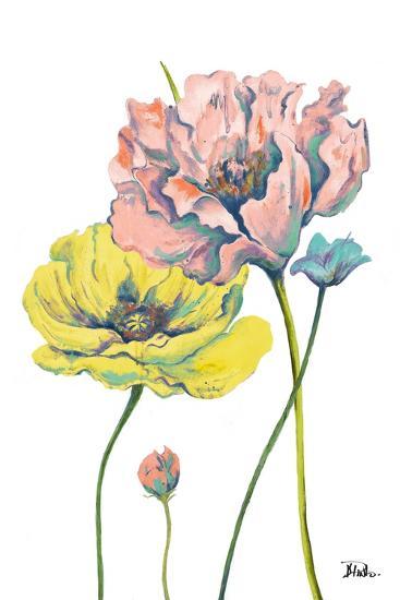 Fresh Colored Poppies I-Patricia Pinto-Art Print