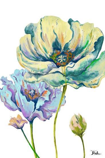 Fresh Colored Poppies II-Patricia Pinto-Art Print