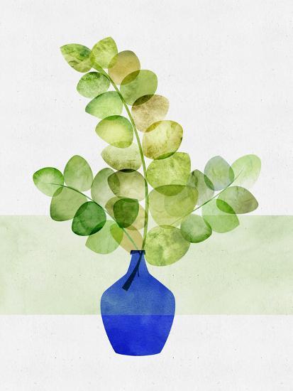 Fresh Eucalyptus-Modern Tropical-Art Print