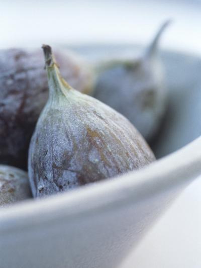 Fresh Figs in a Bowl-Petr Blaha-Photographic Print