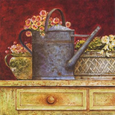 Fresh from the Garden A-Eric Barjot-Art Print