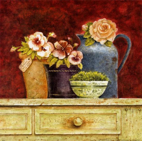 Fresh from the Garden B-Eric Barjot-Art Print