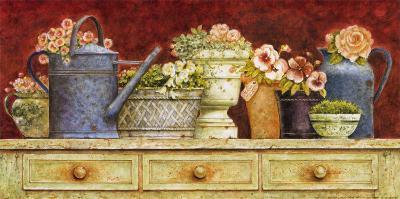 Fresh from the Garden-Eric Barjot-Art Print