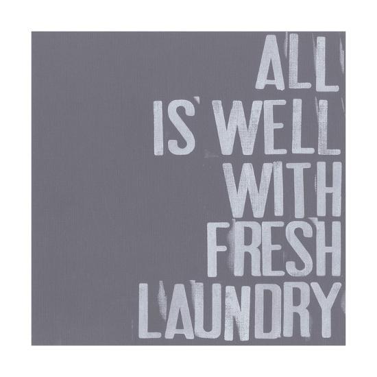 Fresh Laundry I-Deborah Velasquez-Art Print