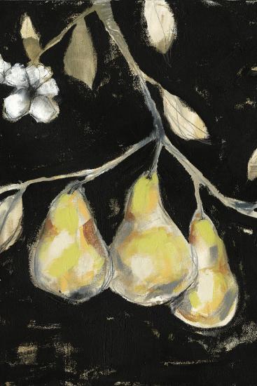 Fresh Pears I-Jennifer Goldberger-Art Print