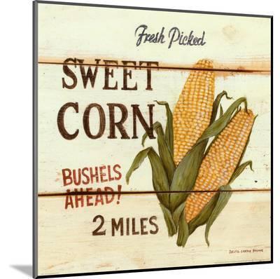 Fresh Picked Sweet Corn-David Carter Brown-Mounted Print