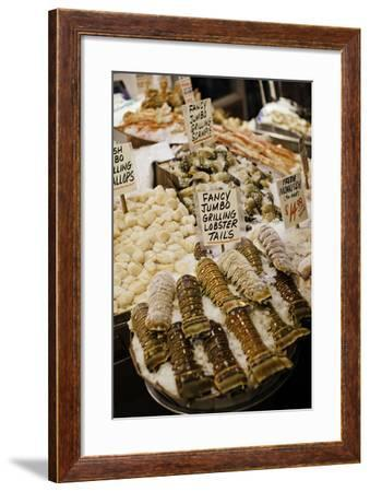 Fresh Seafood I-Bob Stefko-Framed Photographic Print