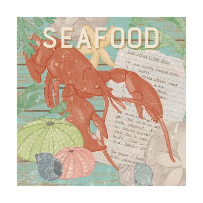 Fresh Seafood II-Leslie Mark-Art Print