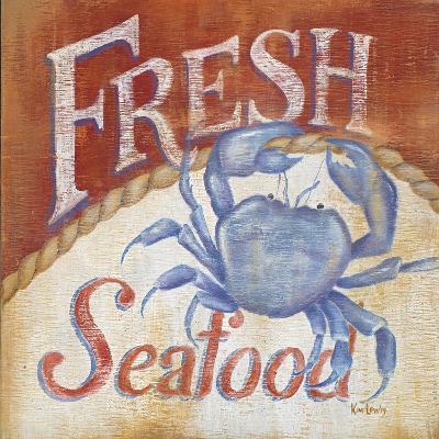 Fresh Seafood-Kim Lewis-Art Print