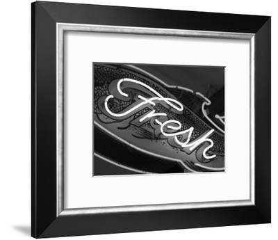 Fresh Sign at Pike's Place Market, Seattle, Washington, USA-Savanah Stewart-Framed Photographic Print