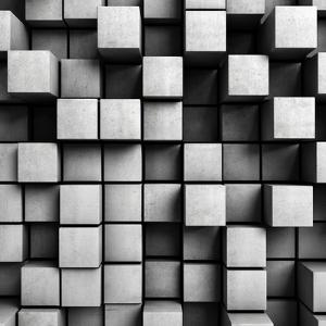 Abstract Background From Concrete Cubes by FreshPaint