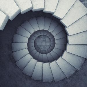Design Spiral Staircase Made Of Concrete by FreshPaint