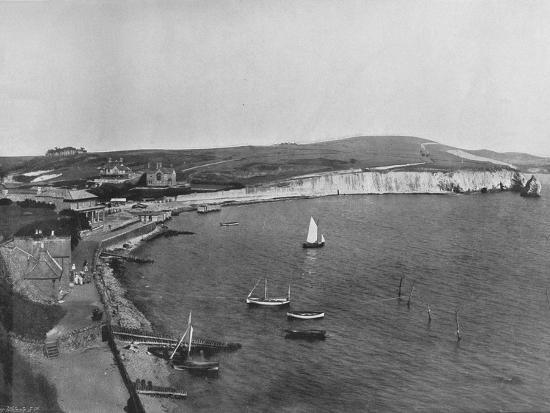 'Freshwater Bay - The Town and the Bay', 1895-Unknown-Photographic Print