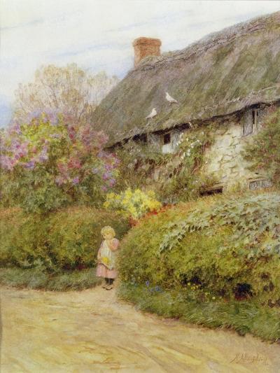 Freshwater Cottage-Helen Allingham-Giclee Print