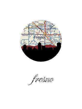 fresno-map-skyline