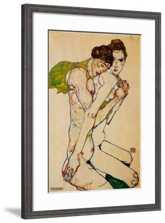 Freundschaft, 1912-Egon Schiele-Framed Art Print
