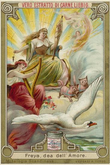 Freyja, Goddess of Love--Giclee Print