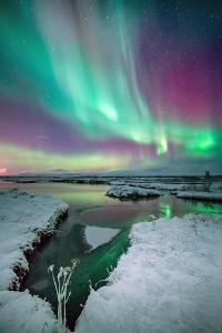 The Colors of Aurora by Friðþjófur M.