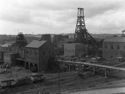 Frickley Colliery, South Elmsall, West Yorkshire, 1965-Michael Walters-Photographic Print