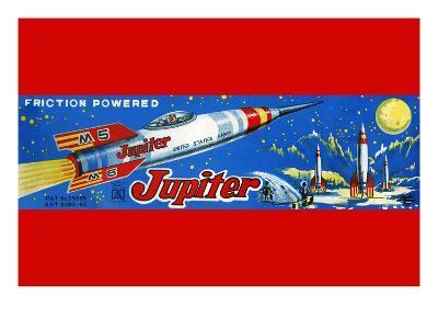 Friction Powered Jupiter M-5--Art Print