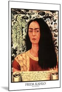 Frida Kahlo (Self Portrait) by Frida Kahlo