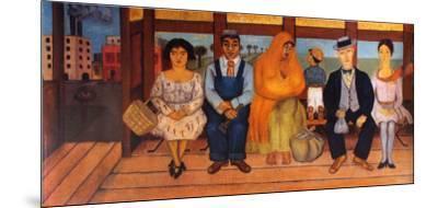 L'autobus by Frida Kahlo
