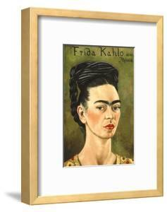 Portrait with Gold Dress by Frida Kahlo
