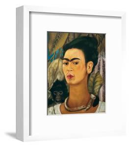 Portrait with Monkey1938 by Frida Kahlo