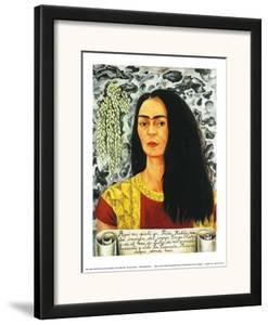 Self-Portait with Loose Hair - 1947 by Frida Kahlo